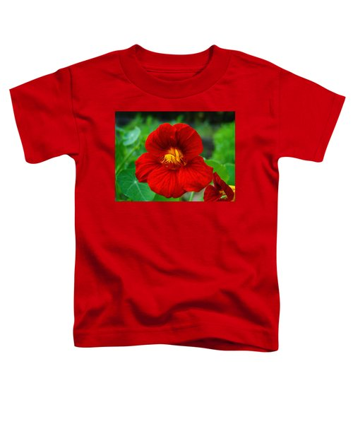 Toddler T-Shirt featuring the photograph Red Daylily by Bill Barber