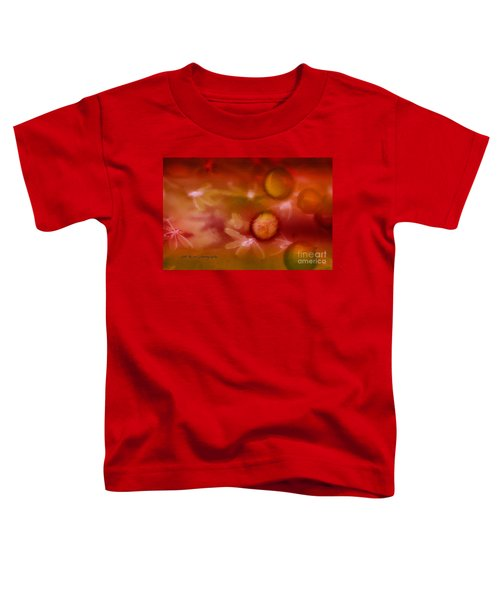 Red Pearl Dragon Fly Toddler T-Shirt