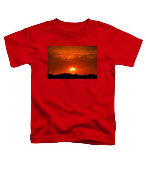 Solar Eclipse Toddler T-Shirt by Bill Pevlor