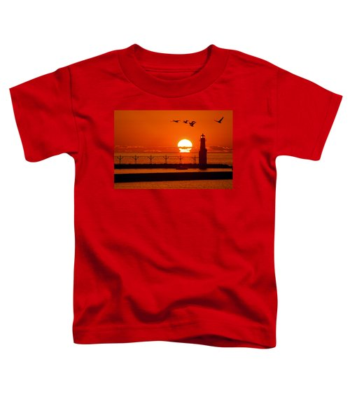 Summer Escape Toddler T-Shirt by Bill Pevlor