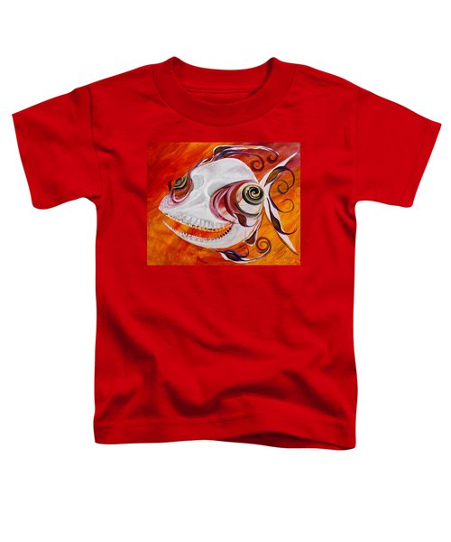 T.b. Chupacabra Fish Toddler T-Shirt