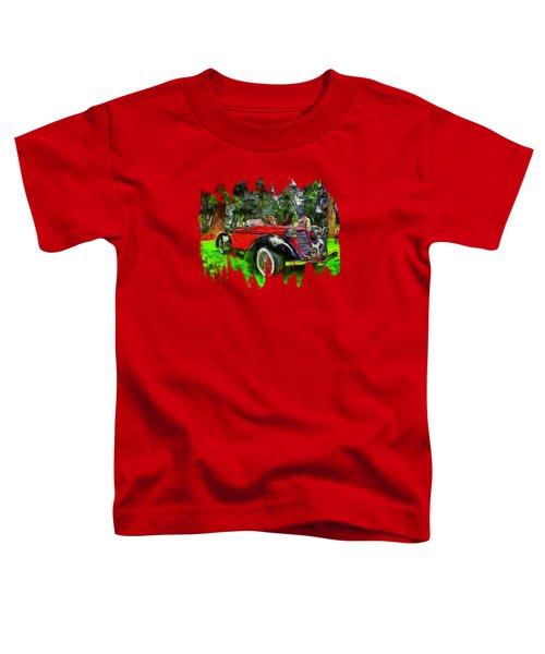 1935 Auburn Boattail Speedster Toddler T-Shirt