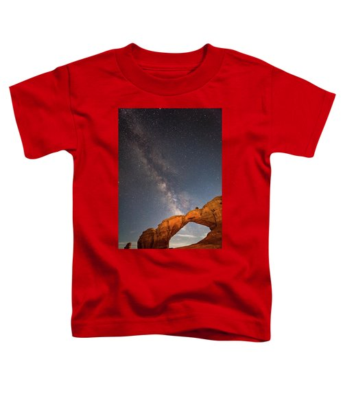 Broken Arch And Milky Way Toddler T-Shirt