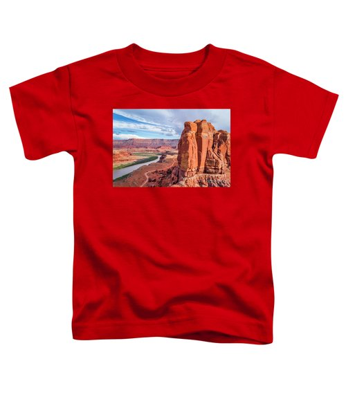 Colorado River And Chicken Corner Trail  Toddler T-Shirt