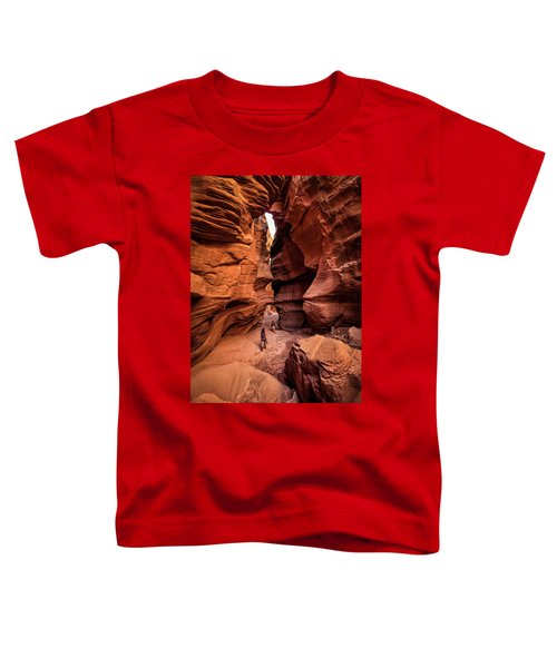 Toddler T-Shirt featuring the photograph Happy Canyon by Whit Richardson
