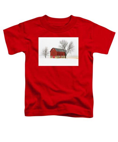 Little Red Barn Toddler T-Shirt