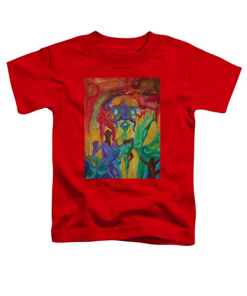 Mann I The Middle Toddler T-Shirt