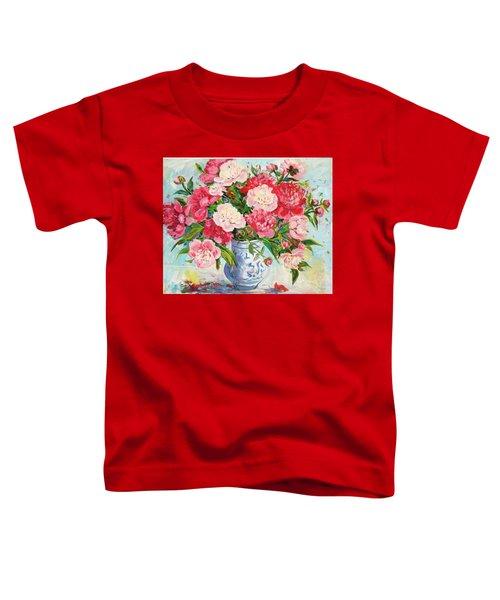 Peonies Toddler T-Shirt