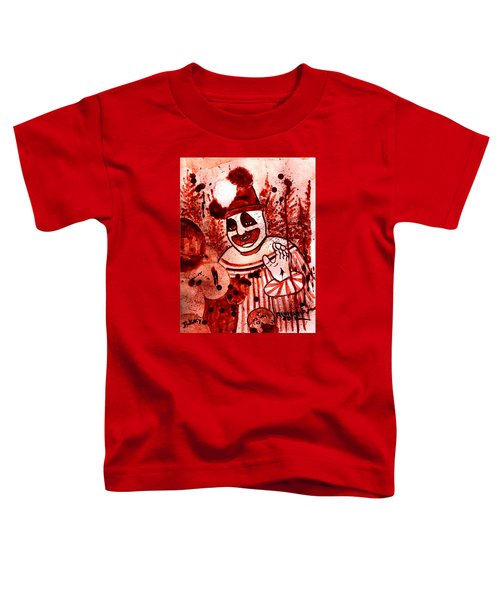 Pogo Painted In Human Blood Toddler T-Shirt