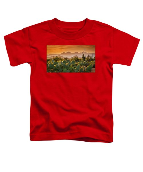 Pure Sonoran Gold  Toddler T-Shirt