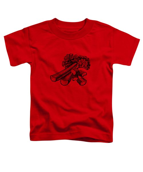Rhubarb Stalks Toddler T-Shirt