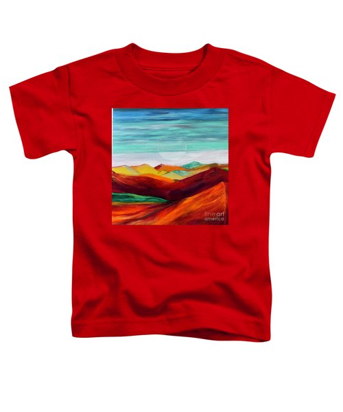 The Hills Are Alive Toddler T-Shirt