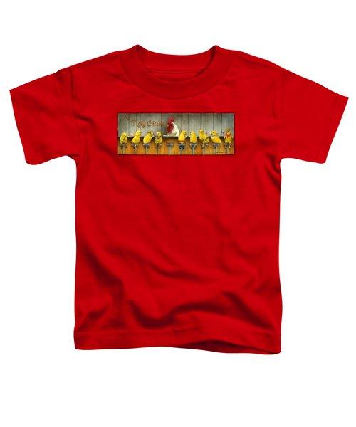 Tipsy Chicks... Toddler T-Shirt by Will Bullas