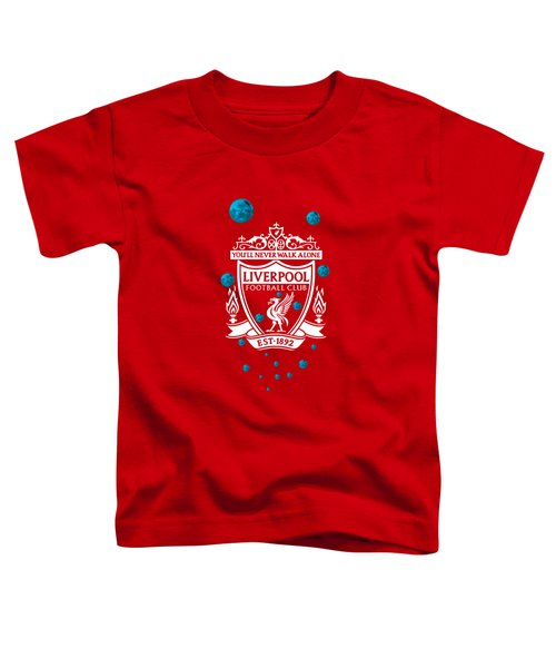 Tribute To Liverpool 4 Toddler T-Shirt