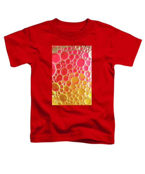 Water And Oil Bubbles Toddler T-Shirt