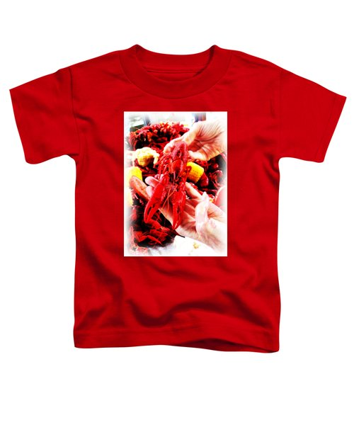 102715 Louisiana Lobster Toddler T-Shirt