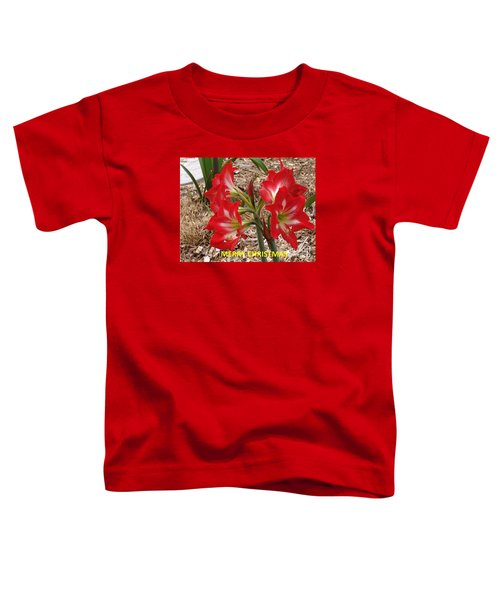 Christmas Card Toddler T-Shirt by Rod Ismay