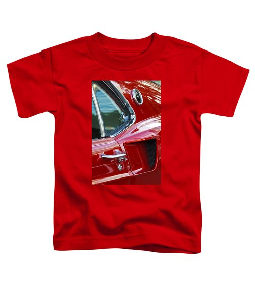 1969 Ford Mustang Mach 1 Side Scoop Toddler T-Shirt