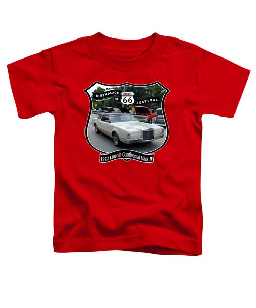 1972 Lincoln Continental Mark Iv Woyner Toddler T-Shirt