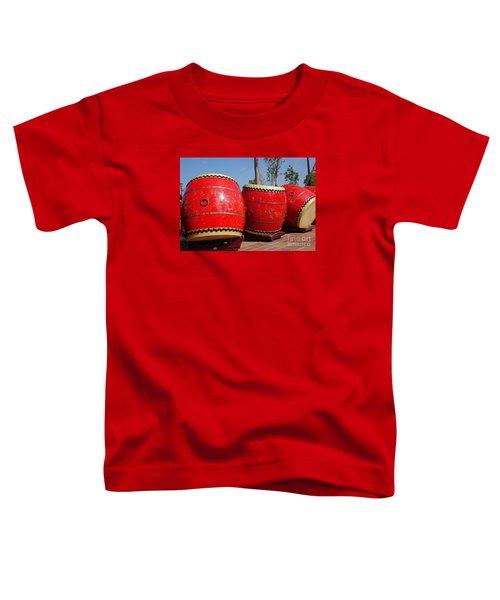 Large Chinese Drums Toddler T-Shirt