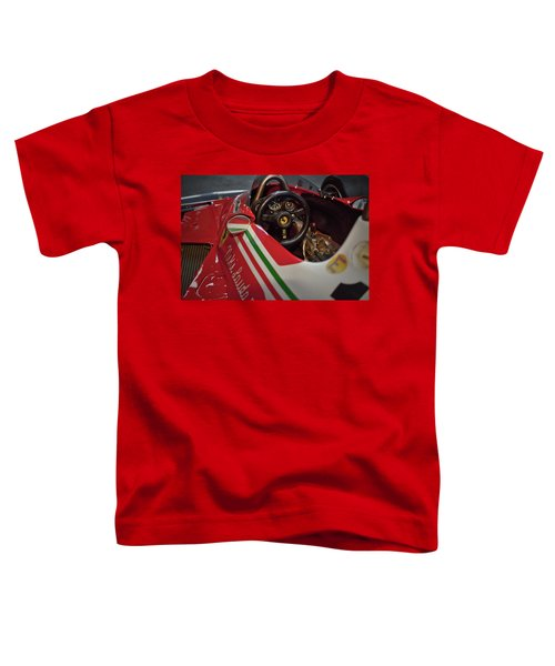 Number 11 By Niki Lauda #print Toddler T-Shirt