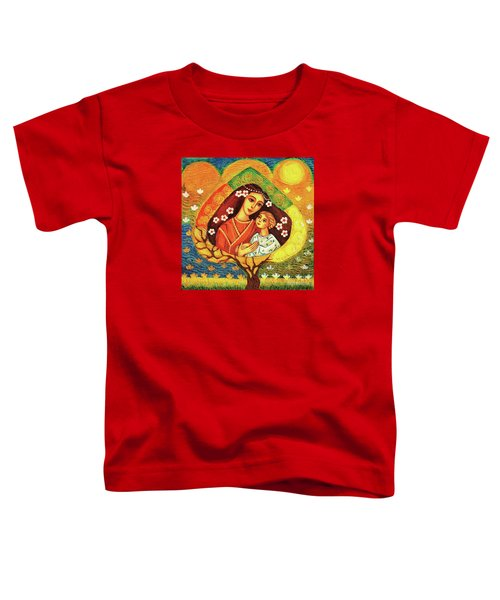 Tree Of Life Toddler T-Shirt by Eva Campbell
