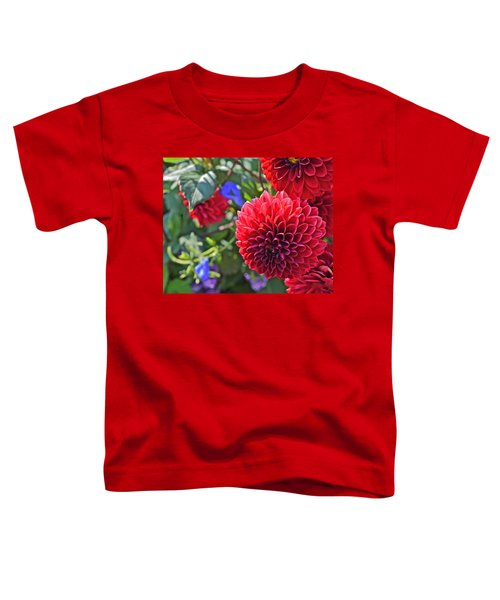 2015 Mid September At The Garden Dahlias 2 Toddler T-Shirt