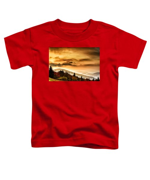 Allegheny Mountain Sunrise #33 Toddler T-Shirt