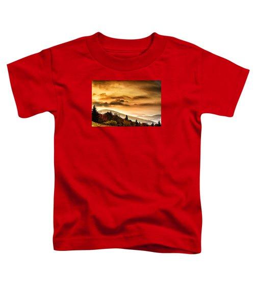 Allegheny Mountain Sunrise #33 Toddler T-Shirt