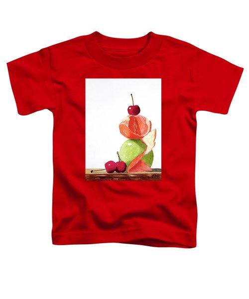 A Balanced Meal Toddler T-Shirt