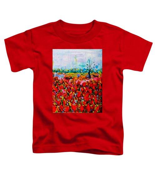 A Field Of Flowers # 2 Toddler T-Shirt