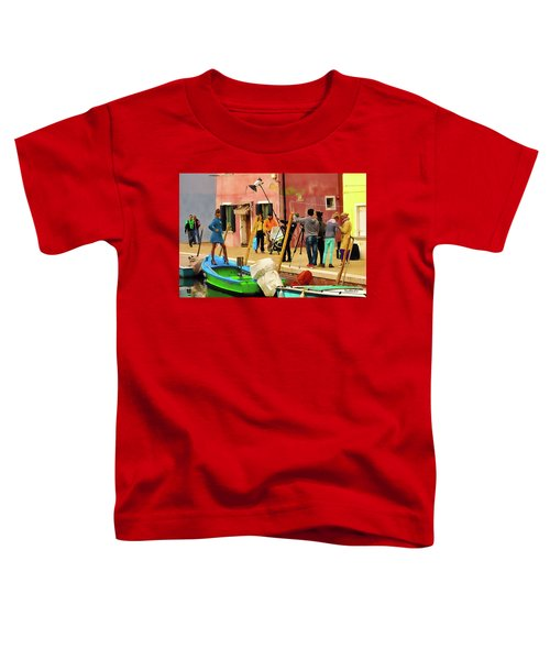 A Glamour Shoot In Burano Toddler T-Shirt