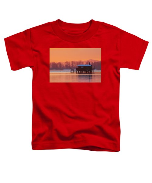 A Hut On The Water Toddler T-Shirt