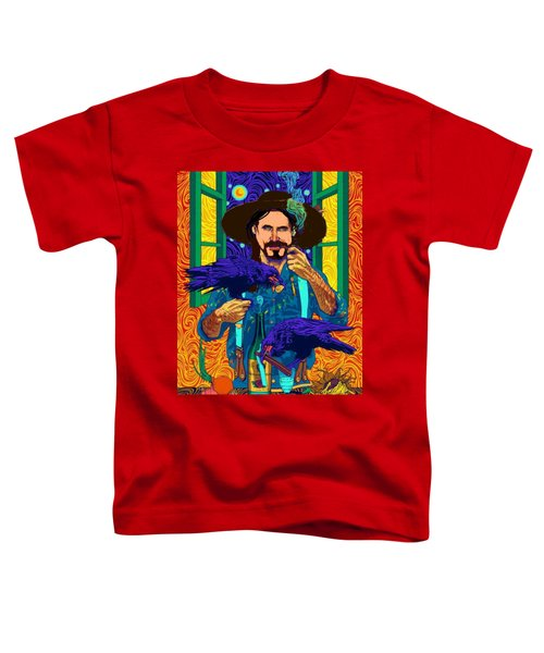 A Life A Of Caw. Portrait Of Stefan Toddler T-Shirt