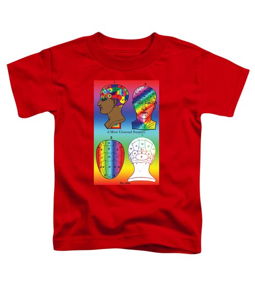 A Most Unusual Suspect Toddler T-Shirt