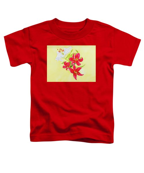 A Study Of Lilies Toddler T-Shirt