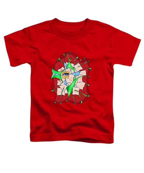 Abstract Digital Art - Deniteus V2 Toddler T-Shirt