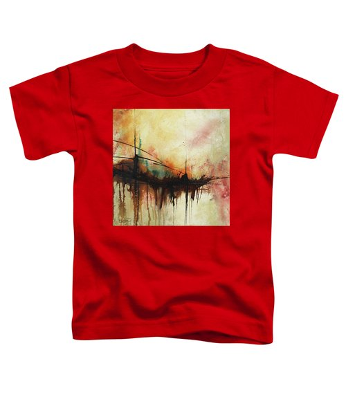 Abstract Painting Contemporary Art Toddler T-Shirt