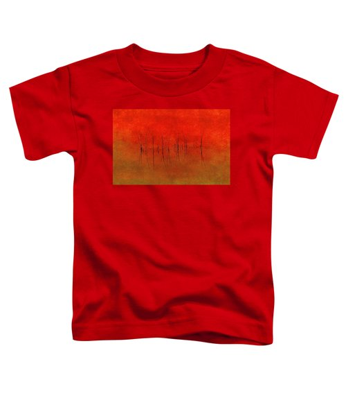 Abstract Sunset  Toddler T-Shirt