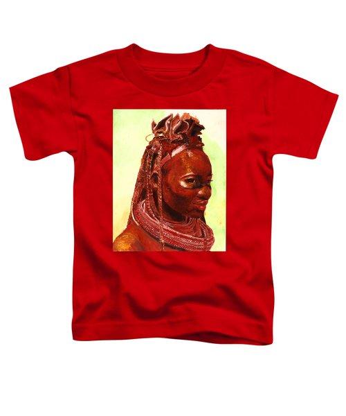 African Beauty Toddler T-Shirt
