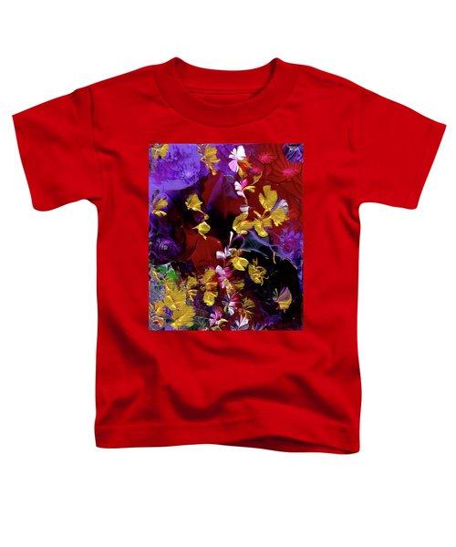 African Violet Awake #3 Toddler T-Shirt