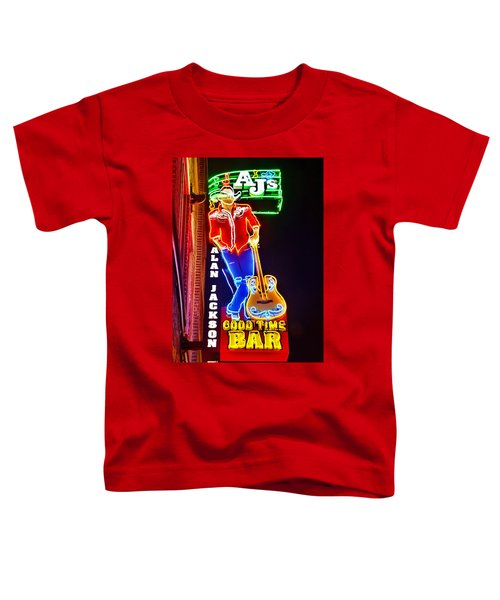 Aj's Good Time Bar Toddler T-Shirt