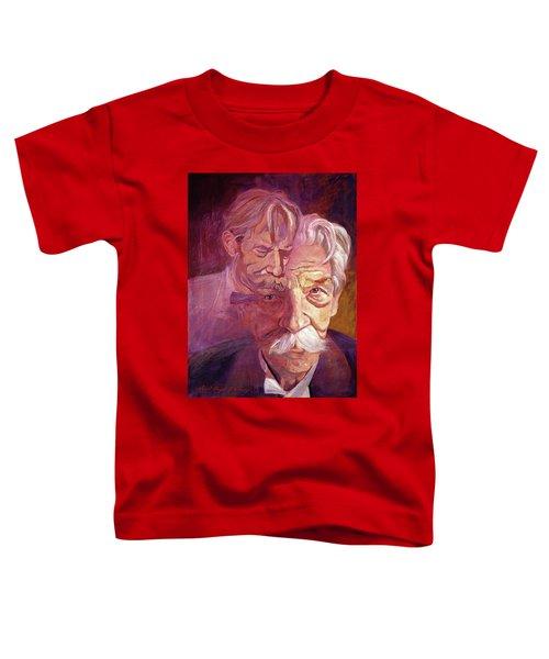 Albert Schweitzer Portrait Toddler T-Shirt