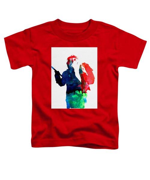 Alice Watercolor Toddler T-Shirt
