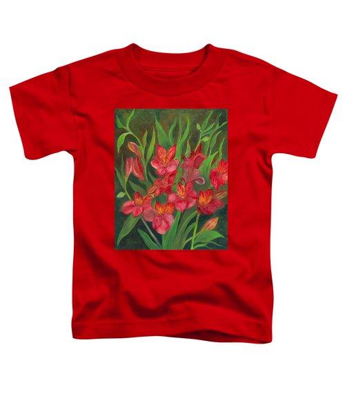 Alstroemeria Toddler T-Shirt