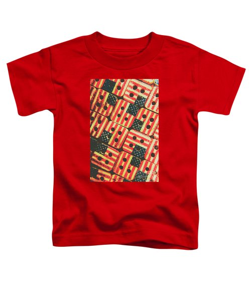 American Quilting Background Toddler T-Shirt