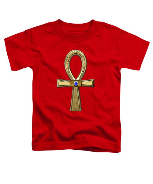 Ancient Egyptian Sacred Cross Ankh Toddler T-Shirt