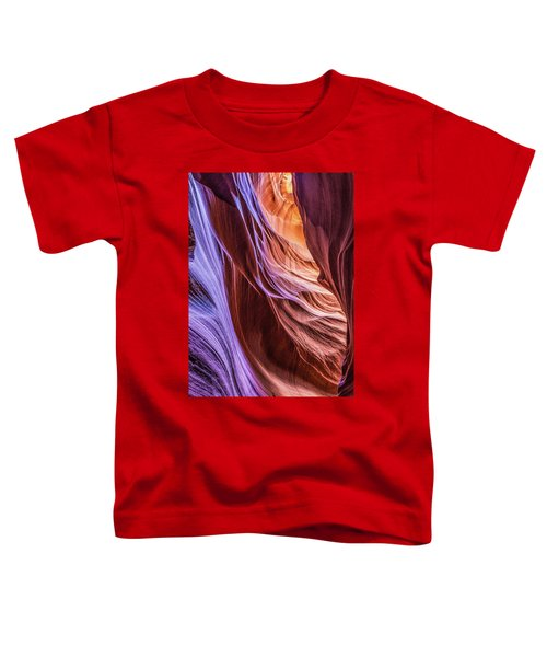 Antelope Canyon Air Glow Toddler T-Shirt