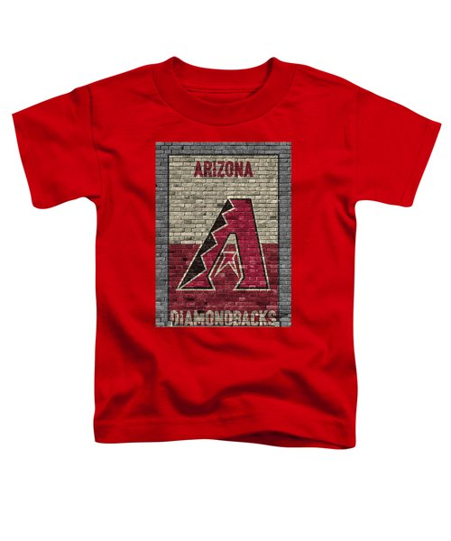 Arizona Diamondbacks Brick Wall Toddler T-Shirt