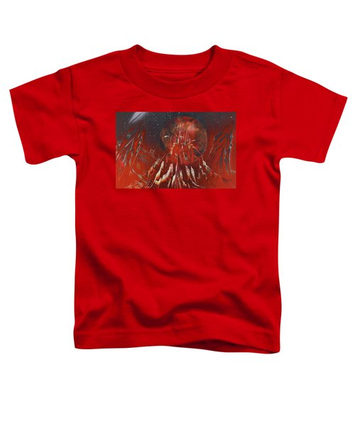 Arrival At Red Hill Toddler T-Shirt